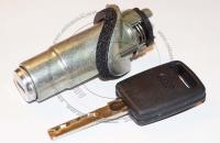 Личинка замка багажника (замок багажника) для Audi A6 / Ауди А6 в комплекте с ключом зажигания
