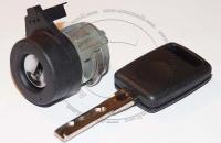 Личинка замка зажигания (замок зажигания) для Audi A6 / Ауди А6 в комплекте с ключом