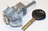 Личинка замка передней правой пассажирской двери BMW E46 (3 Series) / БМВ Е46 (3 серия) в комплекте с ключом зажигания