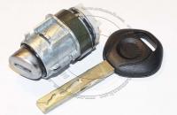 Личинка замка передней левой водительской двери BMW 7 Series / БМВ 7 серии до 2008 г.в. в комплекте с ключом зажигания