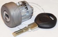 Личинка замка зажигания (замок зажигания) для BMW / БМВ до 2003 г.в. в комплекте с ключом зажигания HU58