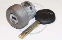 Личинка замка зажигания (замок зажигания) для BMW / БМВ после 2003 г.в. в комплекте с ключом зажигания HU92
