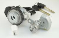 Комплект личинок Hyundai Tucson 2009-2010 (JM) на 2 замка: зажигание, водительская дверь + 2 ключа (KIA7)