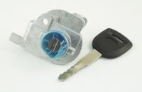 Личинка замка передней левой водительской двери Mazda 3 2003-2013 в комплекте с ключом зажигания (лезвие MAZ24R)