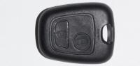 Корпус ключа зажигания для Citroen (Ситроен) с 2-мя кнопками, без ДУ, без чипа, без лезвия (под NE73)