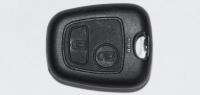 Корпус ключа зажигания для Citroen (Ситроен) с 2-мя кнопками, без ДУ, без чипа, под лезвия NE78, HU83, VA2