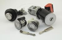 Комплект замков Nissan Terrano (D10) 2014+ на 4 замка: зажигание в сборе, личинки водительской и пассажирской двери, личинка замка багажника + 2 лезвия для ключей (VAC102)