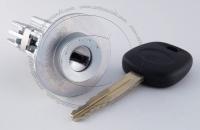 Личинка замка зажигания Toyota Auris (E150) 2006-2012 в комплекте с ключом зажигания (лезвие TOY43)