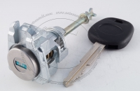 Личинка замка передней левой водительской двери Toyota Camry 2006-2011 (XV40) в комплекте с ключом зажигания (лезвие TOY43)