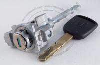 Личинка замка передней левой водительской двери Honda Civic 9 2012-2015 в комплекте с ключом зажигания (лезвие HON66)