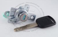 Личинка замка передней левой водительской двери Honda Odyssey 3 2003-2008 (RB1, RB2) в комплекте с ключом зажигания (лезвие HON66)