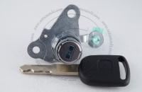 Личинка замка передней левой водительской двери Honda Fit (Jazz) 2001-2007 (GD1, GD2, GD3, GD4) в комплекте с ключом зажигания (лезвие HON66)