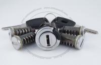 Полный комплект личинок Fiat Doblo / Фиат Добло в старом кузове: замок зажигания, замок левой двери, замок правой двери, замок багажника, замок бардачка, 2 ключа зажигания.