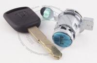 Личинка замка передней левой водительской двери Honda CR-V 2 2001-2006 в комплекте с ключом зажигания (лезвие HON66)