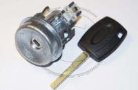 Личинка замка зажигания (замок зажигания) для Ford Fiesta / Форд Фиеста в комплекте с ключом
