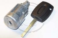 Личинка замка зажигания (замок зажигания) для Ford Focus 3 / Форд Фокус 3 в комплекте с ключом