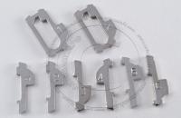 Ремкомплект замка зажигания Honda (под лезвие HON66): x1, x2, x3, x4, x5, x6, квадратные - X1, X2