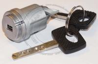 Личинка замка зажигания (замок зажигания) для Mercedes-Benz W124 / Мерседес-Бенц W124 (новый кузов) в комплекте с ключом