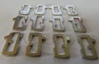 Ремкомплект замка зажигания Пежо - набор кодовых рамок секретного механизма замка.