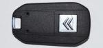 Выкидной ключ зажигания для Citroen (Ситроен) с 2-мя кнопками, без ДУ, без чипа, с лезвием VA2