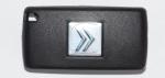 Выкидной чип-ключ зажигания Citroen (Ситроен) с 3-мя кнопками, чипом ID46, лезвием HU83 и ДУ 433 Mhz.