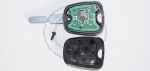Чип-ключ зажигания Citroen (Ситроен) с 2-мя кнопками, чипом ID46, лезвием NE78 и ДУ 433 Mhz.