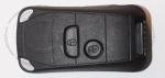 Выкидной ключ зажигания Peugeot (Пежо) Porsche Style, 2 кнопки, без ДУ, без чипа, лезвие NE73 (заготовка, корпус)