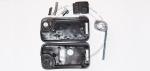 Выкидной ключ зажигания для Peugeot (Пежо) Porsche Style с 2-мя кнопками, без ДУ, без чипа, с лезвием HU83