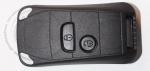 Выкидной ключ зажигания Peugeot (Пежо) Porsche Style, 2 кнопки, без ДУ, без чипа, лезвие HU83 (заготовка, корпус)