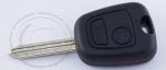 Чип-ключ зажигания Peugeot (Пежо), 2 кнопки, ДУ 433 Mhz, лезвие SX9, чип ID46 (PCF-7961/PCF7922)