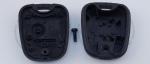 Корпус ключа зажигания для Peugeot (Пежо) с 2-мя кнопками, без ДУ, без чипа, под лезвие SX9