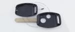 Корпус ключа зажигания Honda 2 кнопки, без ДУ, без чипа, лезвие HON66