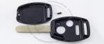 Корпус ключа зажигания Honda с местом под чип, 2 кнопки + 1 (Panic), кнопка паника, без ДУ, без чипа, лезвие HON66