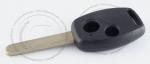 Корпус ключа зажигания Honda (заготовка) с местом под чип, 2 кнопки, без ДУ, без чипа, лезвие HON66