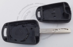 Личинка замка передней левой водительской двери Chevrolet Cruze 2008-2015+ (J300, J305, J308) в комплекте с ключом зажигания (лезвие HU100)
