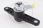 Личинка замка багажника Opel в комплекте с ключом зажигания (лезвие HU100)