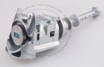 Личинка замка передней левой водительской двери Citroen C4 2004-2010 в комплекте с ключом зажигания (лезвие VA2)