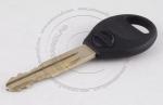 Личинка замка передней левой водительской двери Nissan Tiida + Latio 2004-2014 (C11, NC11, SC11, JC11) в комплекте с ключом зажигания (лезвие NSN14)