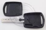 Личинка замка передней левой водительской двери Skoda Superb (B6 / 3T) 2008-2015 в комплекте с ключом зажигания (лезвие HU66)