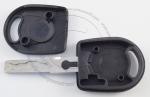Личинка замка передней левой водительской двери Volkswagen Passat (B5 /  Mk5 / 3B / 3BG) 1996-2005 в комплекте с ключом зажигания (лезвие HU66)