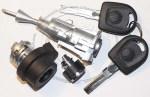 Комплект замков Volkswagen Jetta (Bora) (3 шт.) 2005-2010 г.в.