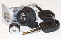 Комплект личинок Volkswagen Golf VI (MkVI): замок зажигания, замок левой двери, замок бардачка, 2 ключа зажигания.