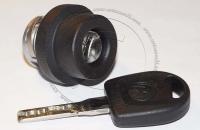 Личинка замка зажигания (замок зажигания) для Volkswagen / Фольксваген в комплекте с ключом